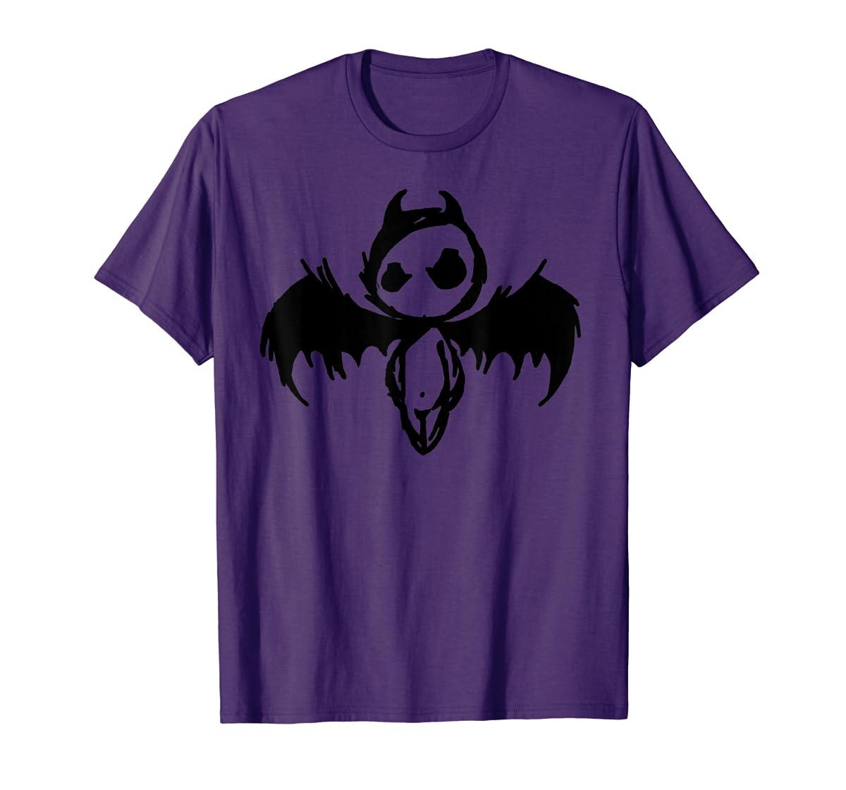 Cute Demon Vintage Couple Matching Halloween Party Costume  T-Shirt-Men's T-Shirt-Purple