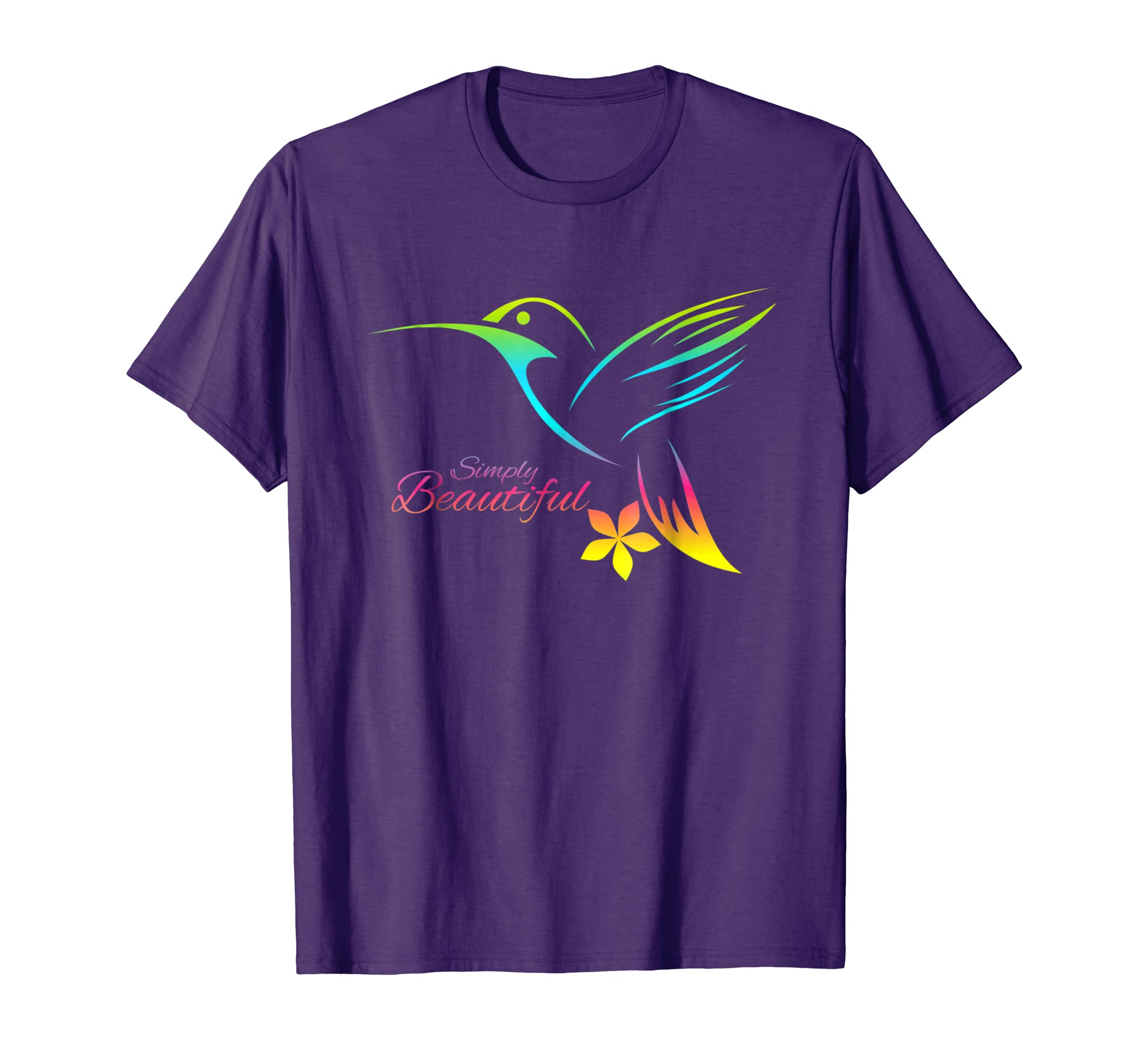 I Love Humming-bird shirt for women Simply Beautiful-AZP