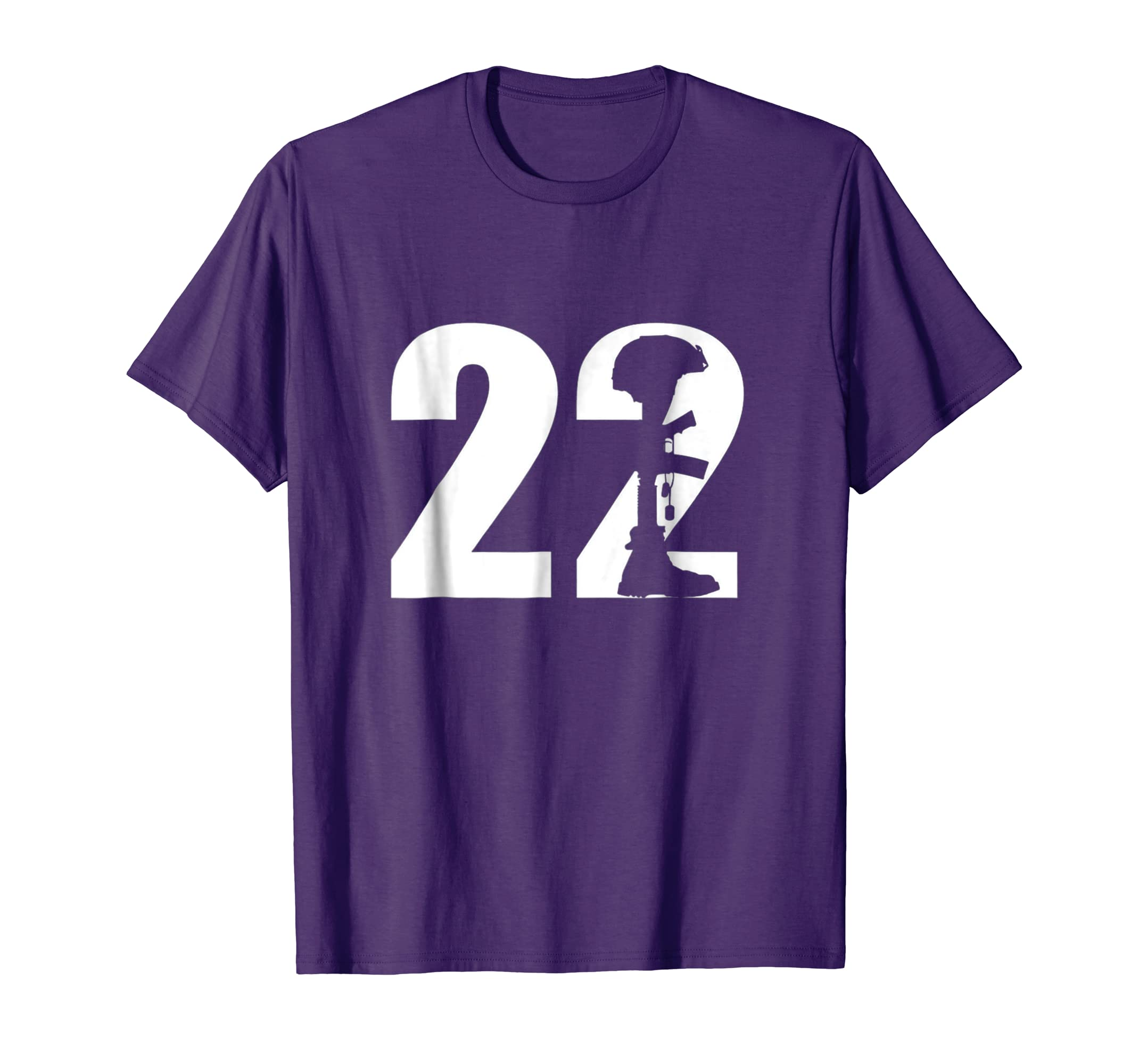 22 Too Many PTSD Awareness T shirt Veterans