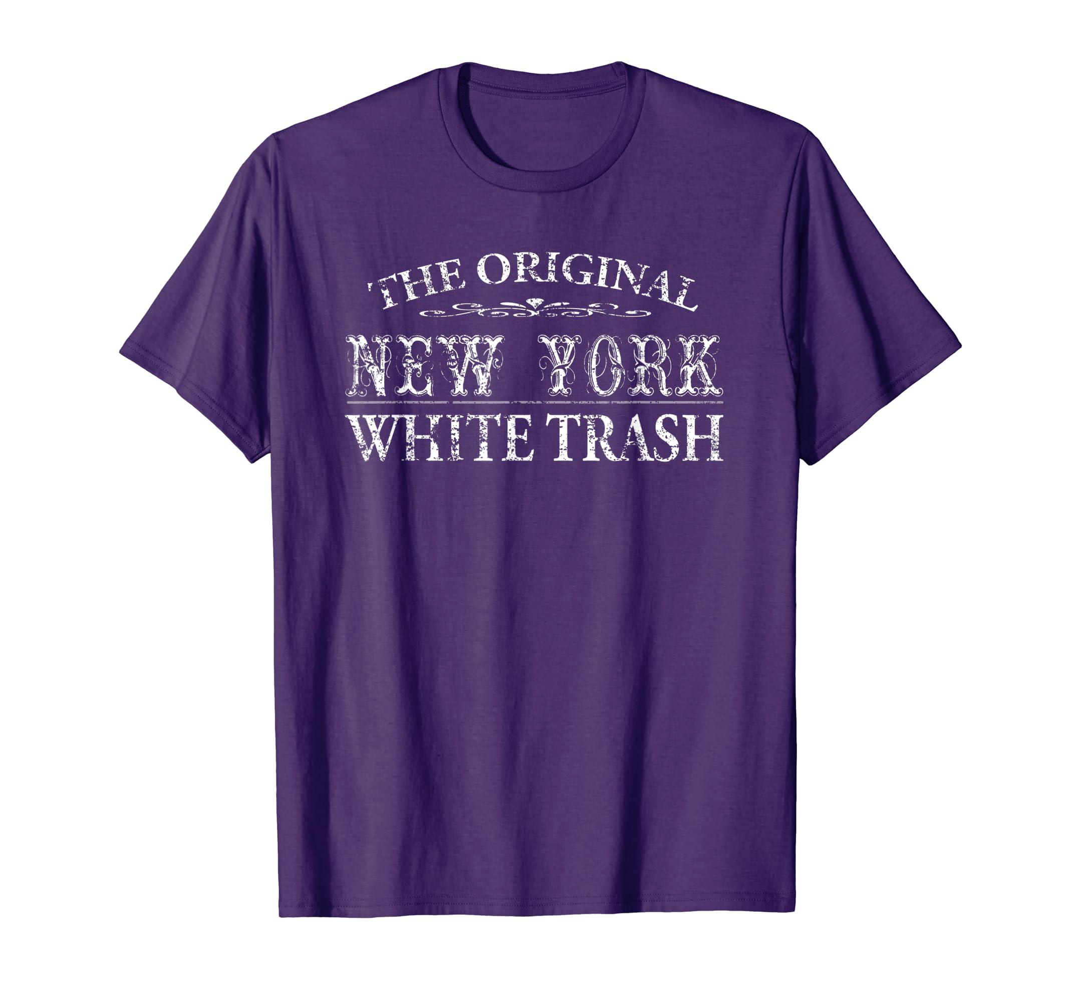White trash violet