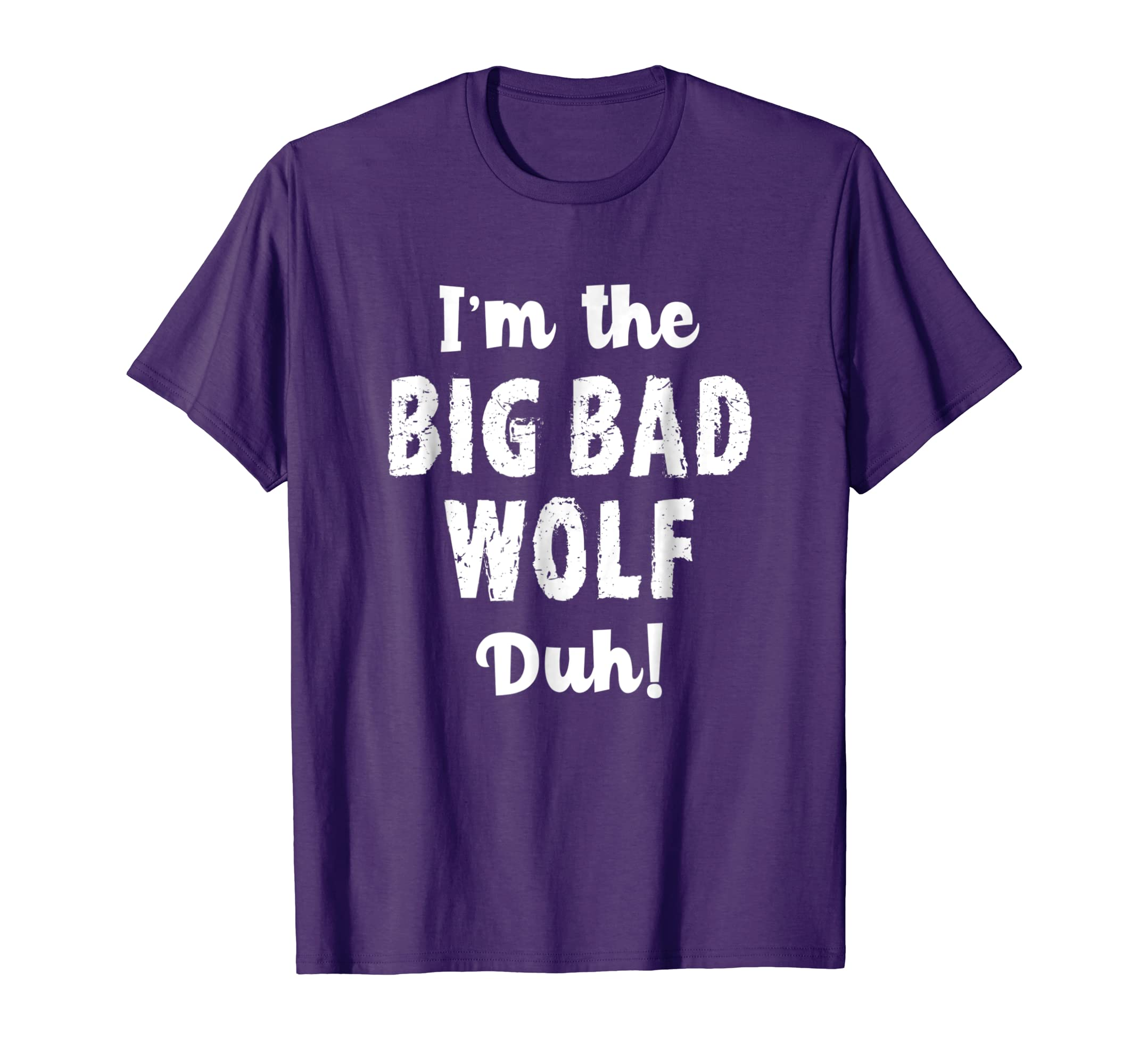Big Bad Wolf Costume Shirt Halloween   Duh! Funny-azvn