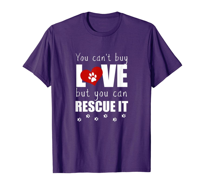 Rescue Dog Cat Animal Lover Gift Shirt Men Women Kids-Loveshirt