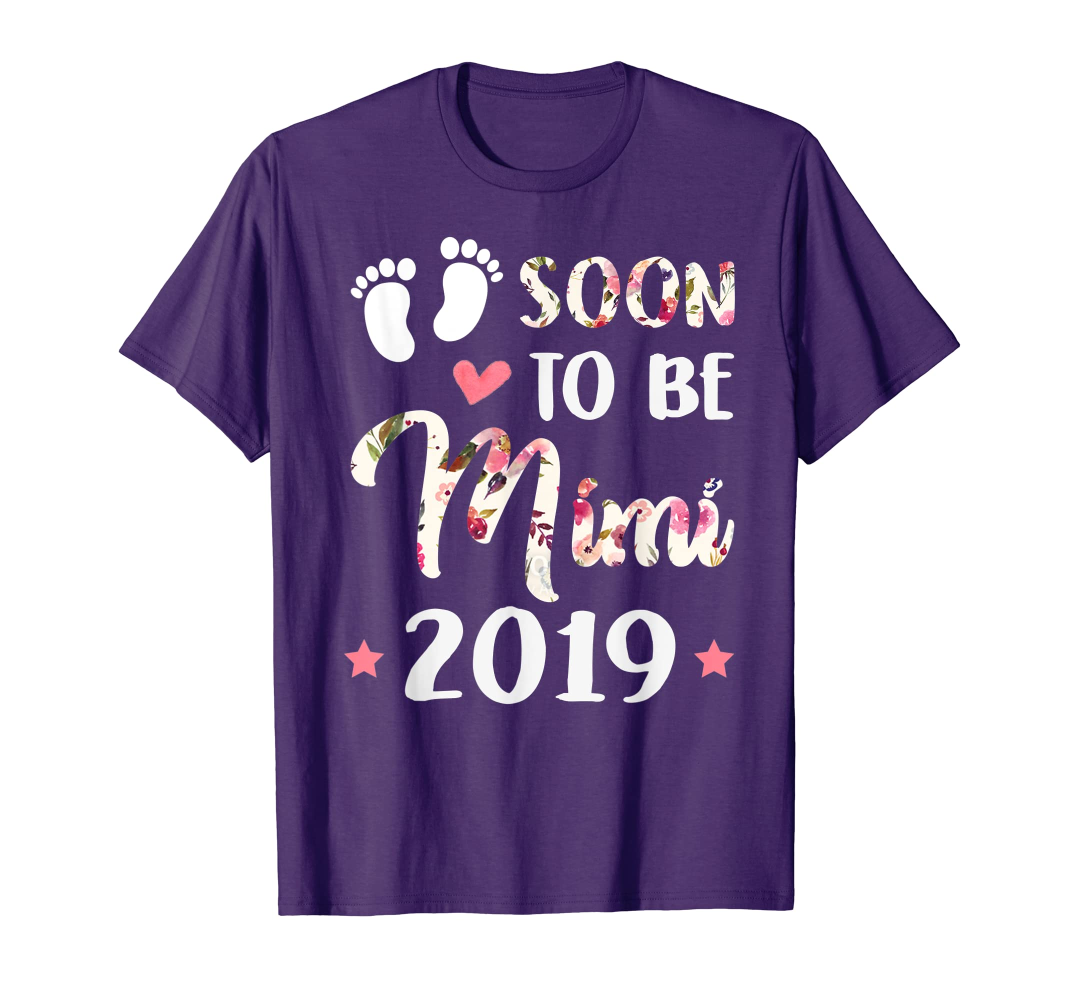 Soon To Be Mimi Est 2019 T-Shirt For Mother's Day Gift-Teehay