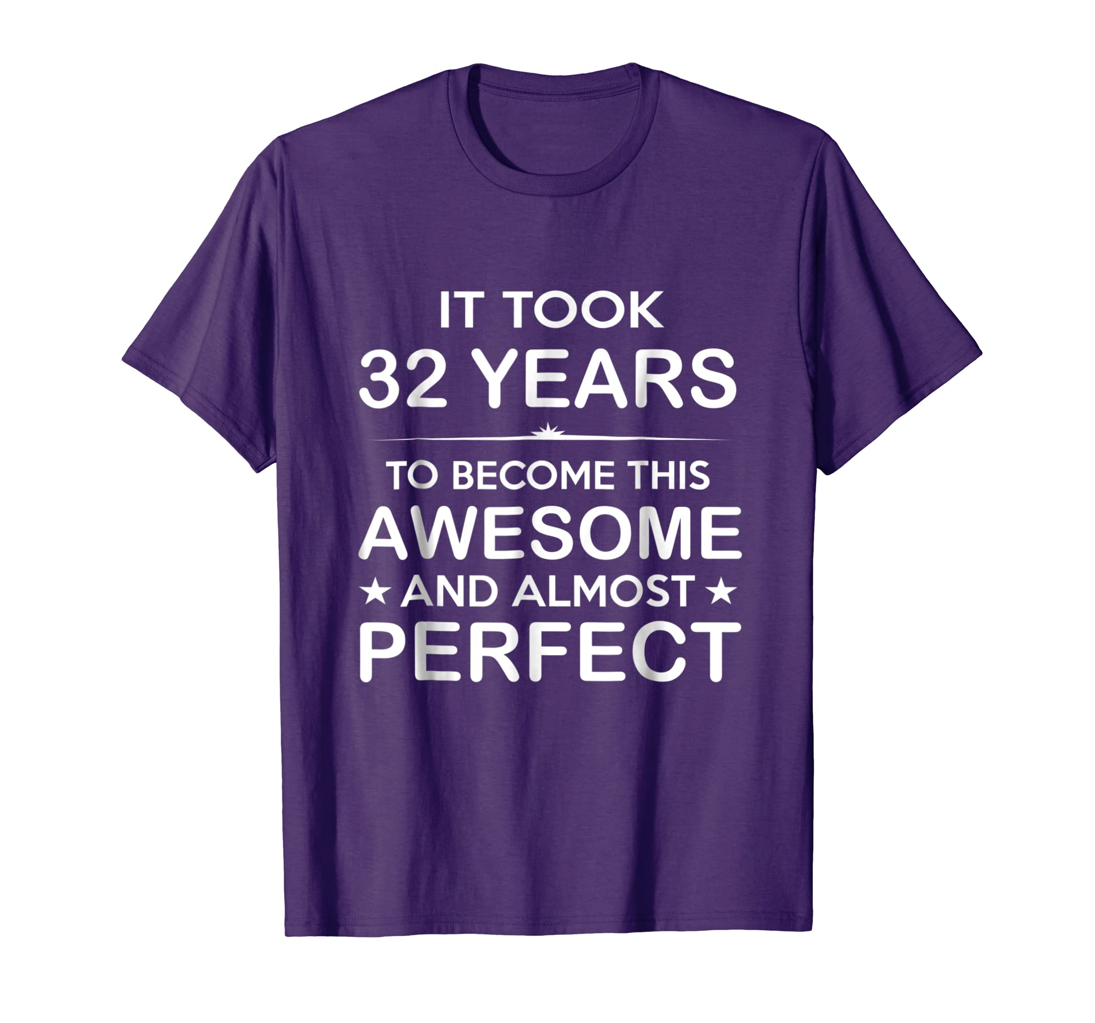 Amazon Thirty Two 32 Year Old 32nd Birthday Gift Ideas Her Him Clothing