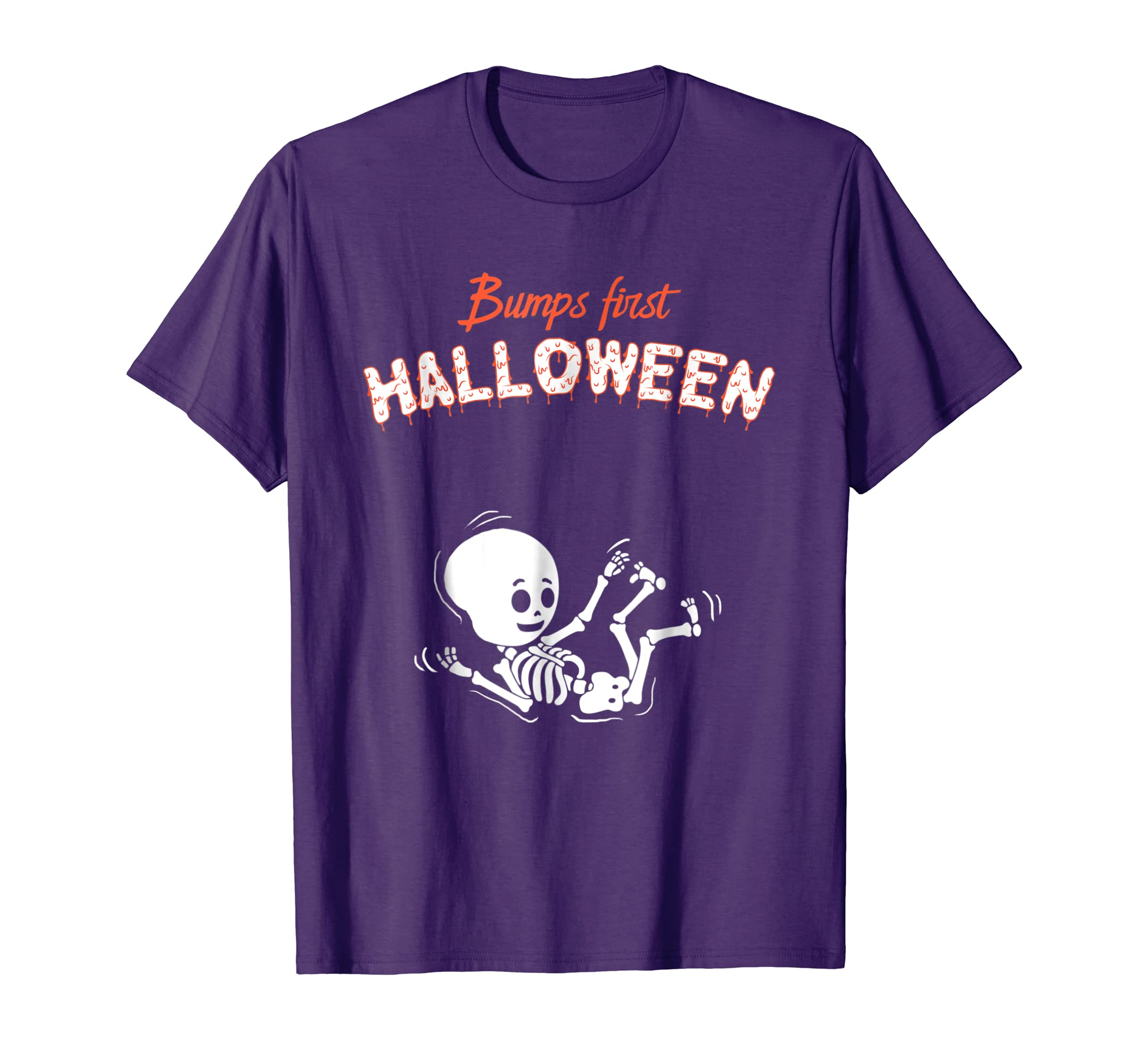 Bump's First Halloween T Shirt Mom To Be Costume