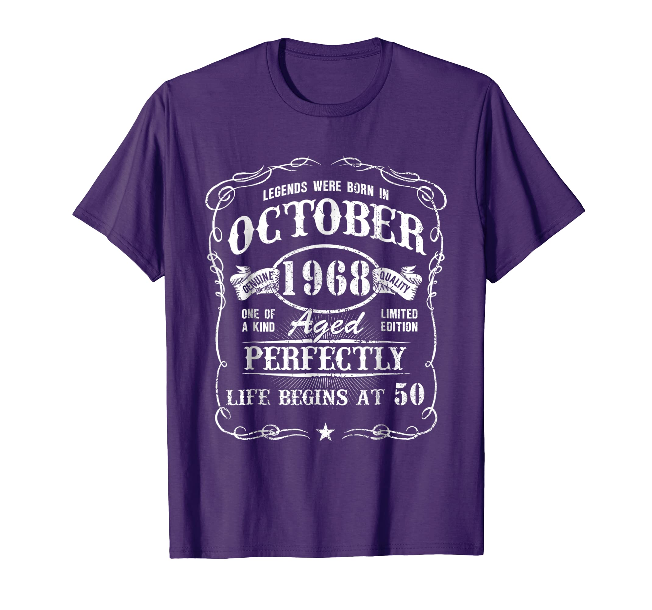 October 1968 Retro Shirt Vintage 50th Birthday Decorations Teechatpro