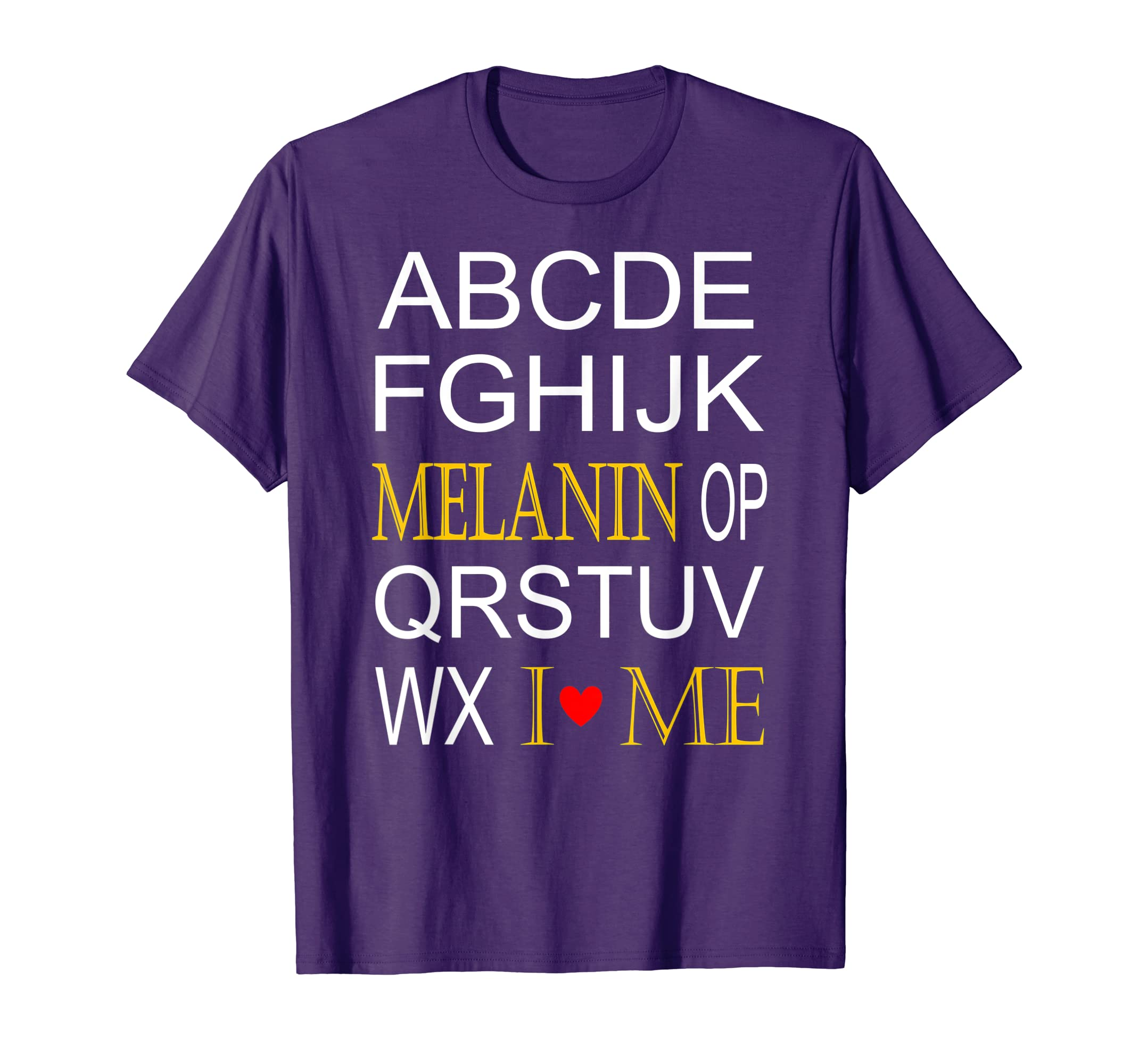 02f02bfdef3c13 Amazon.com: MELANIN ABC'S T-SHIRT FOR AFRICAN AMERICAN CHILDREN: Clothing