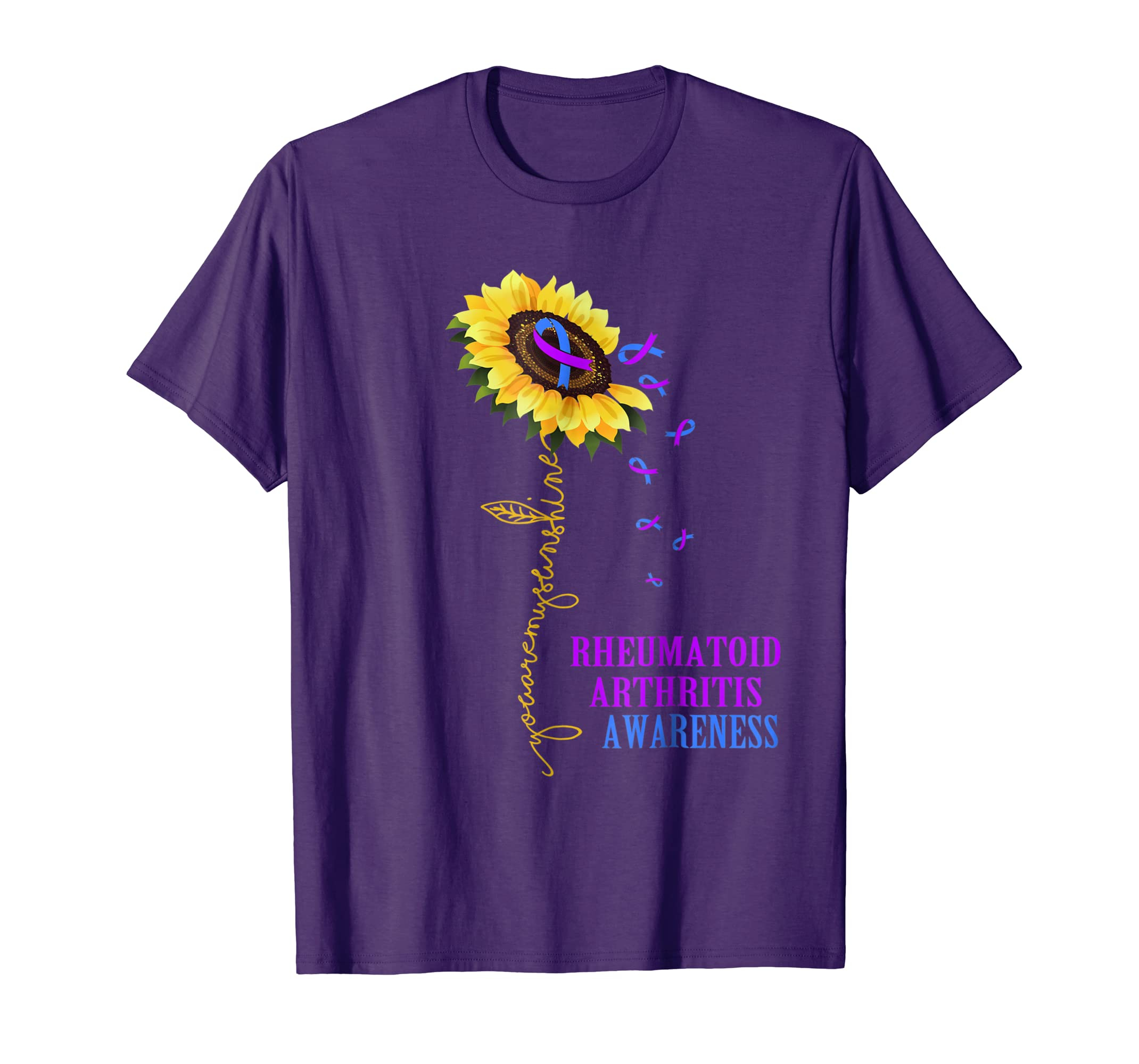 You Are My Sunshine Shirt Rheumatoid Arthritis Awareness-azvn