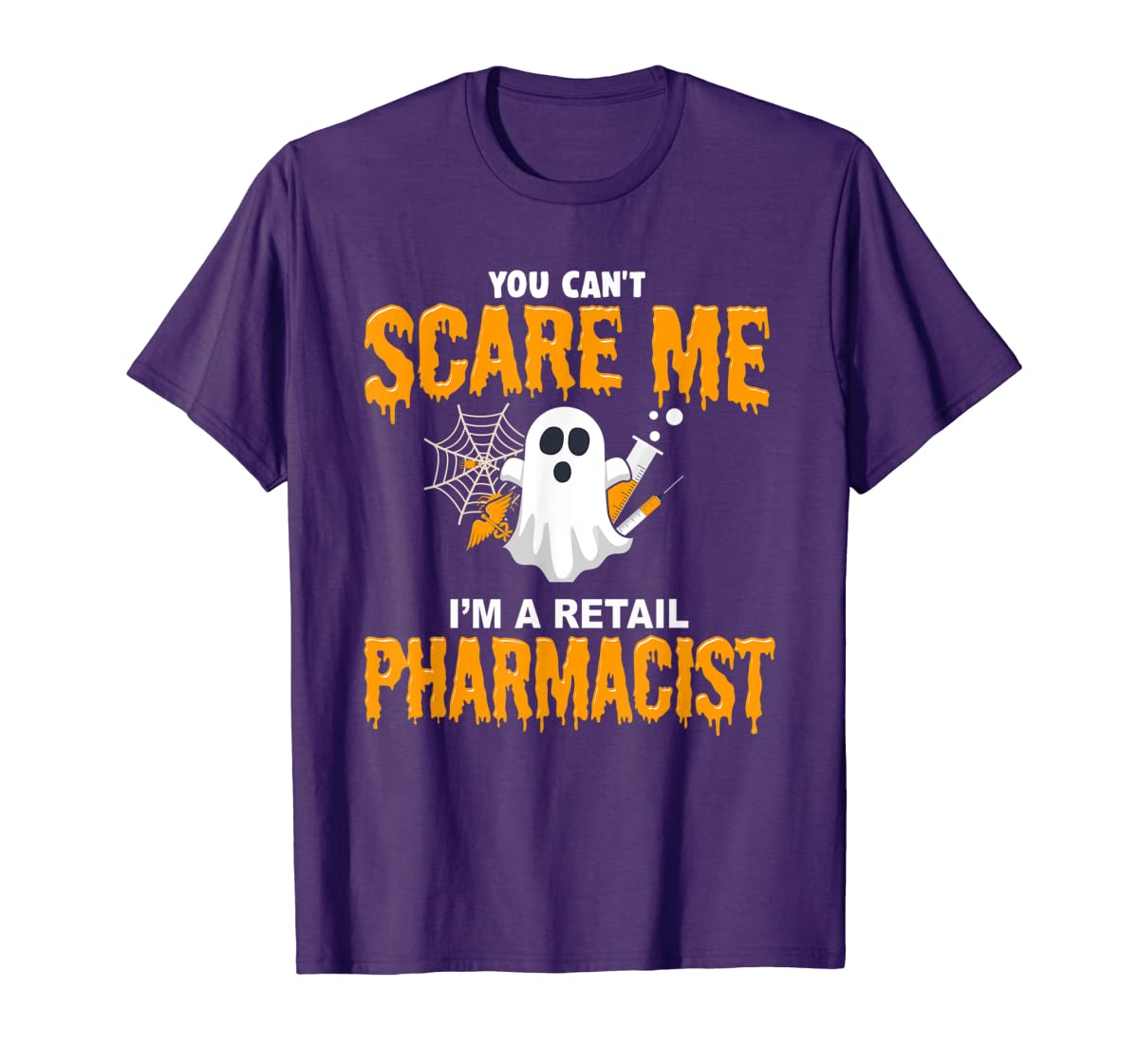 Halloween Costume Shirt I'm A Retail Pharmacist T-Shirt-Men's T-Shirt-Purple