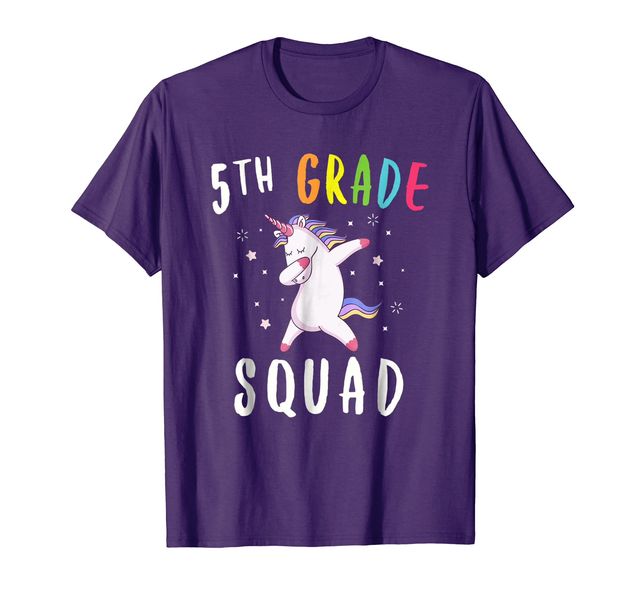 5th Grade Squad Unicorn Shirt Fifth Grade Teacher T Shirt-Newstyleth