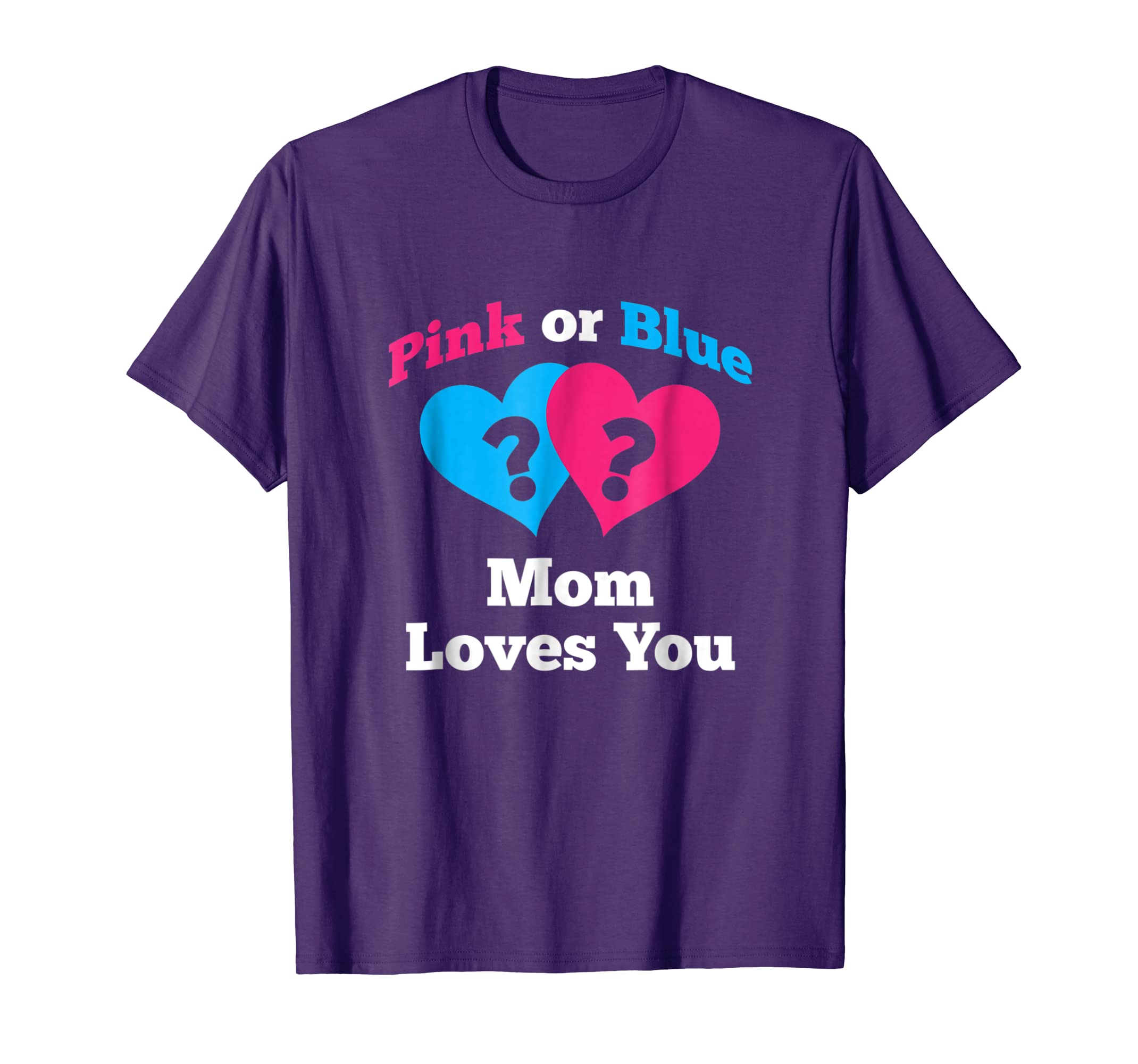 Amazoncom Gender Reveal Shirt For Mom Baby Shower Pink Or Blue