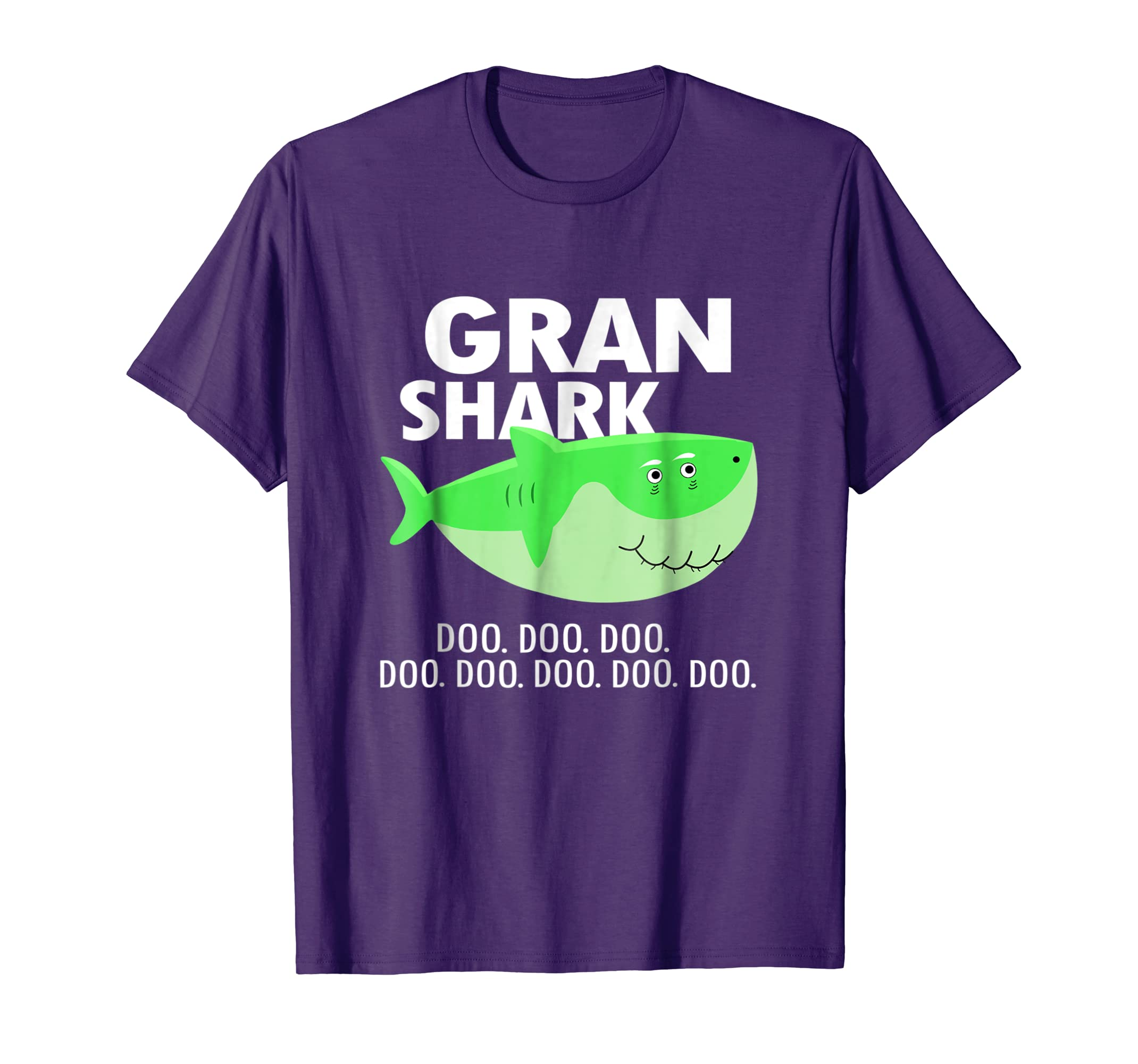 Gran Shark Baby Mommy Daddy Matching Family Shark T Shirt
