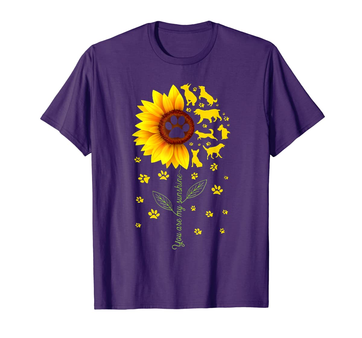 You are my Sunshine t-shirt-Men's T-Shirt-Purple