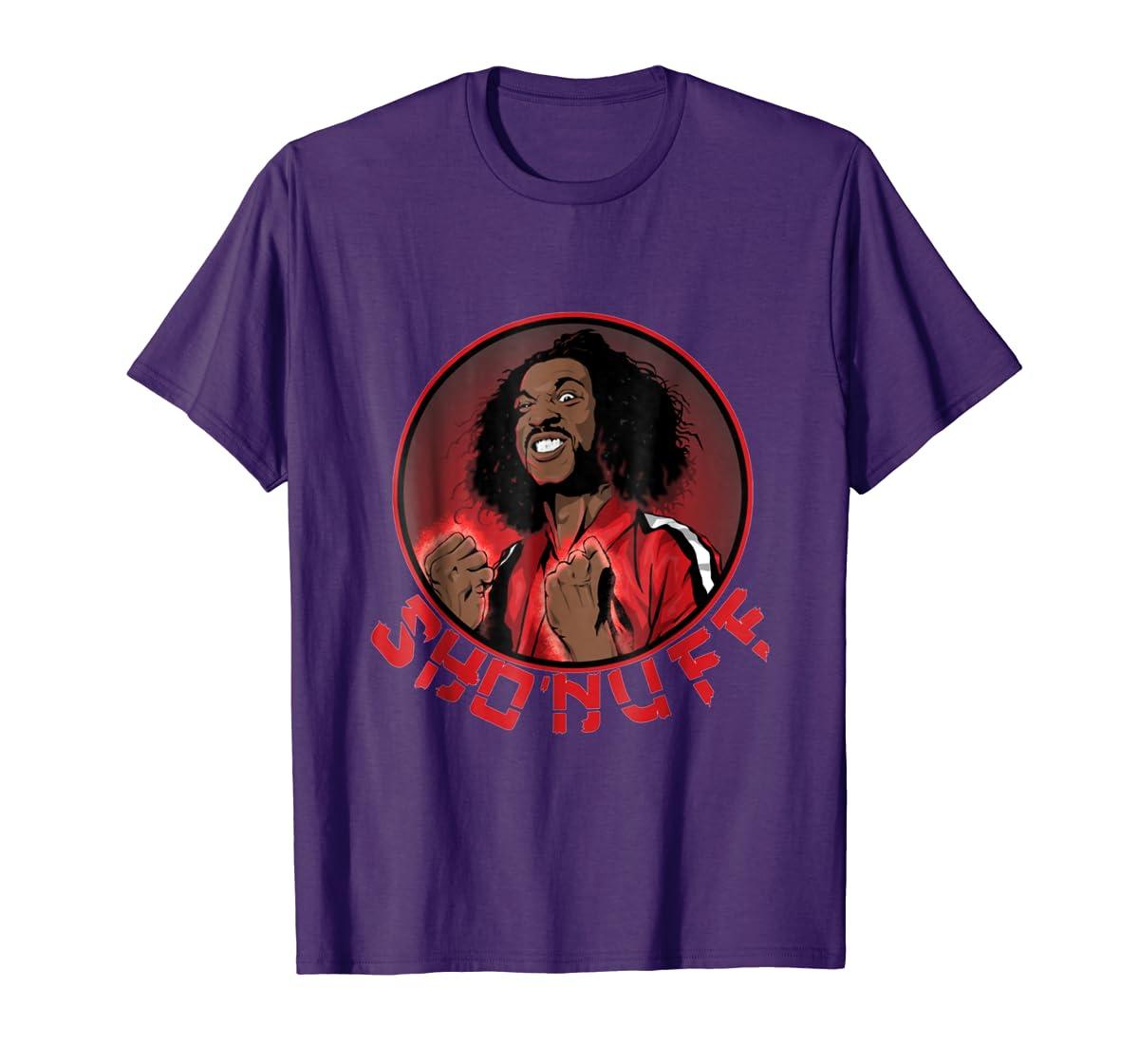 Shon uff shogun of harlem T Shirt-Men's T-Shirt-Purple
