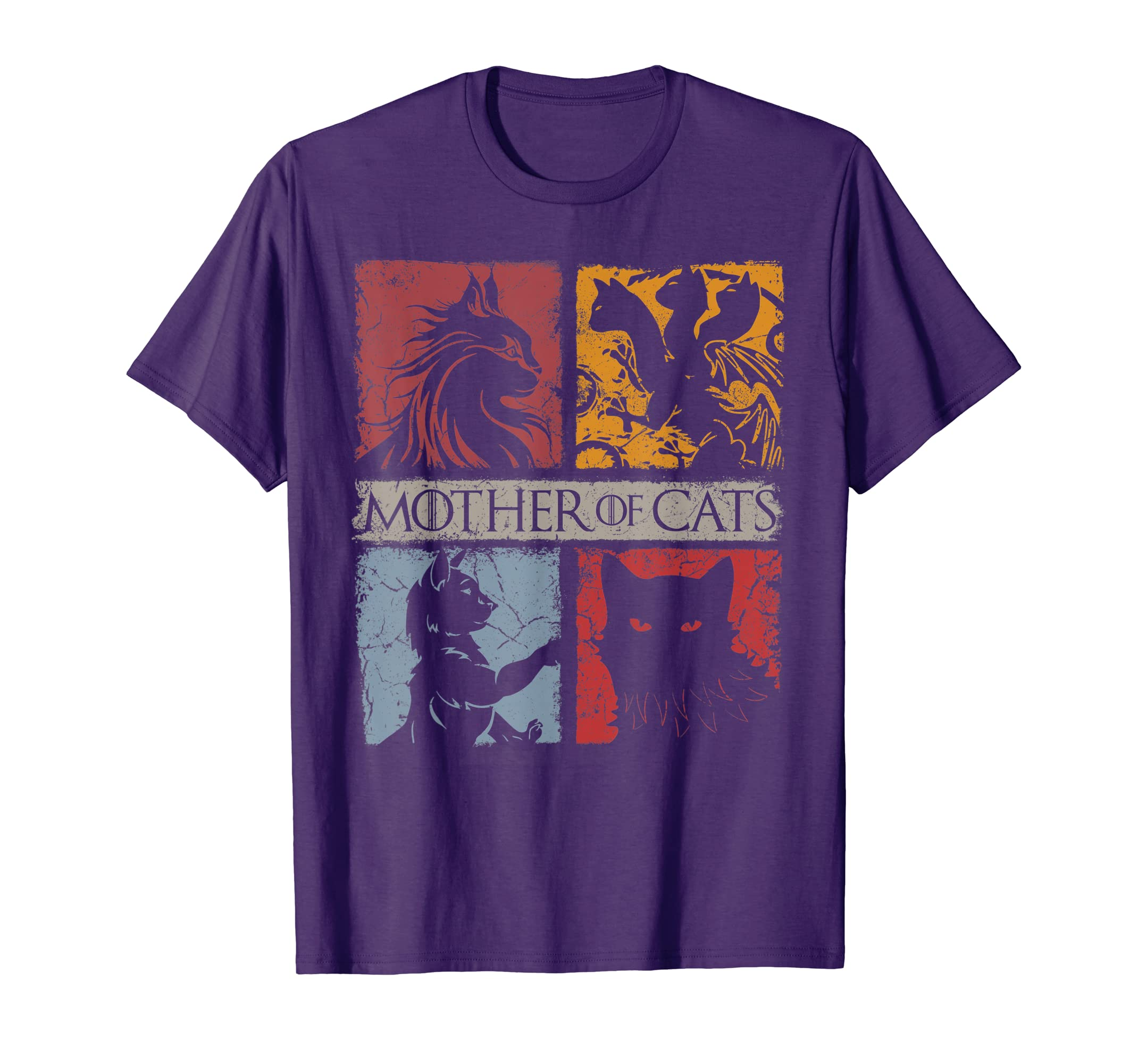 Mother of Cats Shirt – Cat Lovers Cat Mom Gift T-Shirt-Protee
