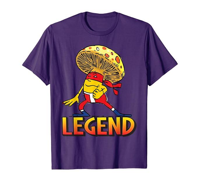 Amazon.com: Legend Mushroom Ninja The Man The Myth The ...