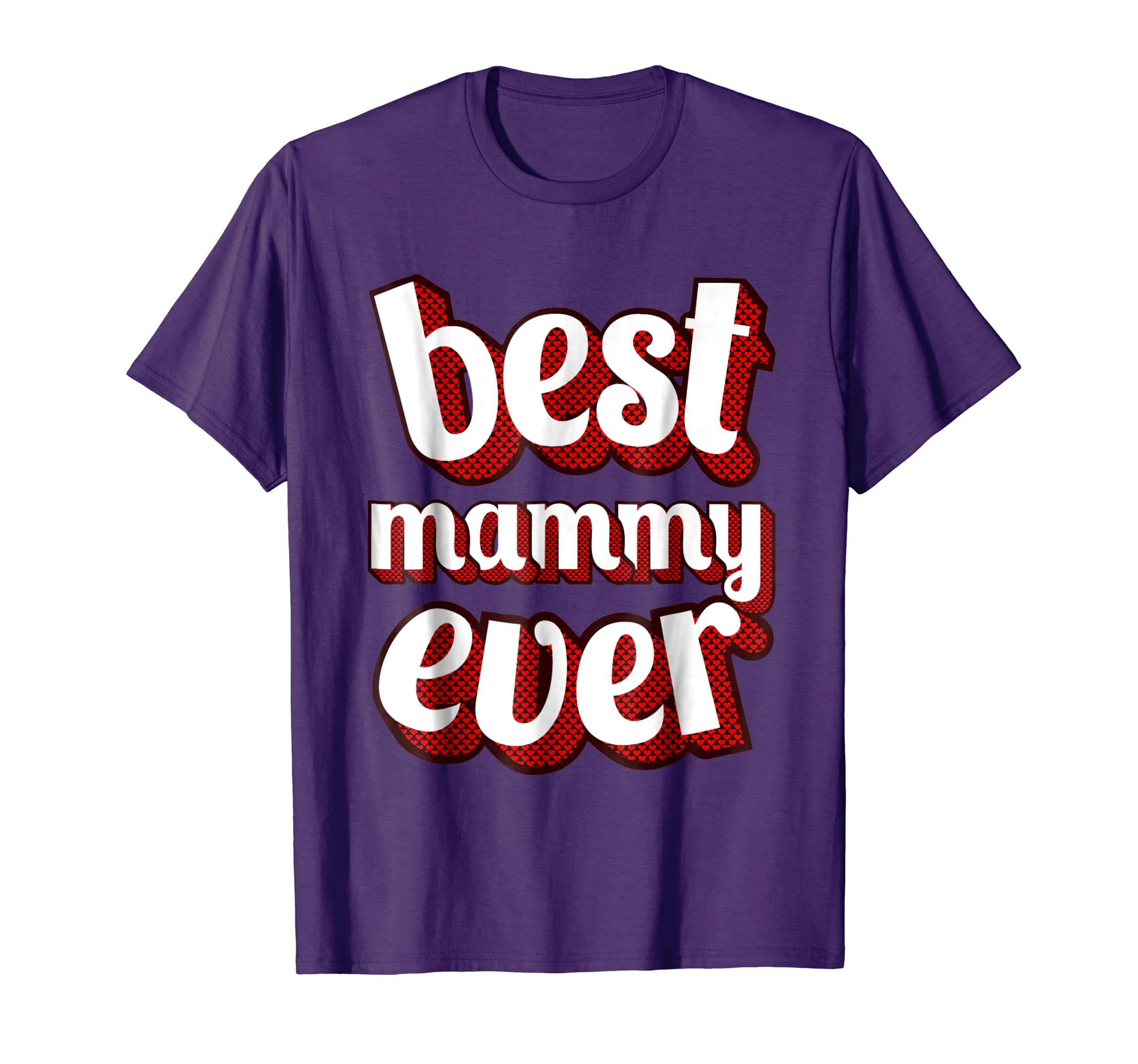 Best Mammy Ever T Shirt Vintage Retro Classic Graphic Design-alottee gift