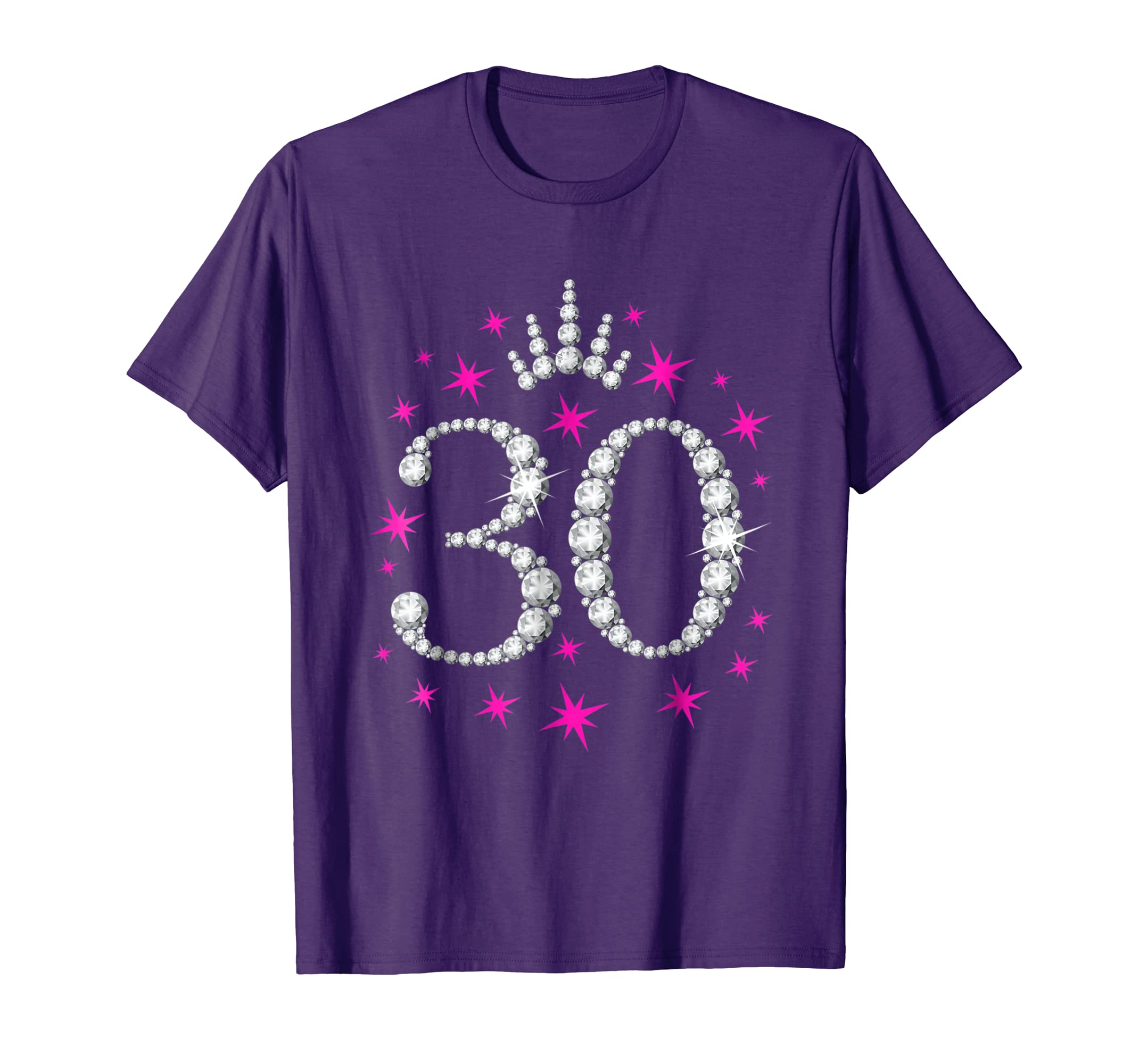 Thirties Birthday T Shirt For Ladies Clothing