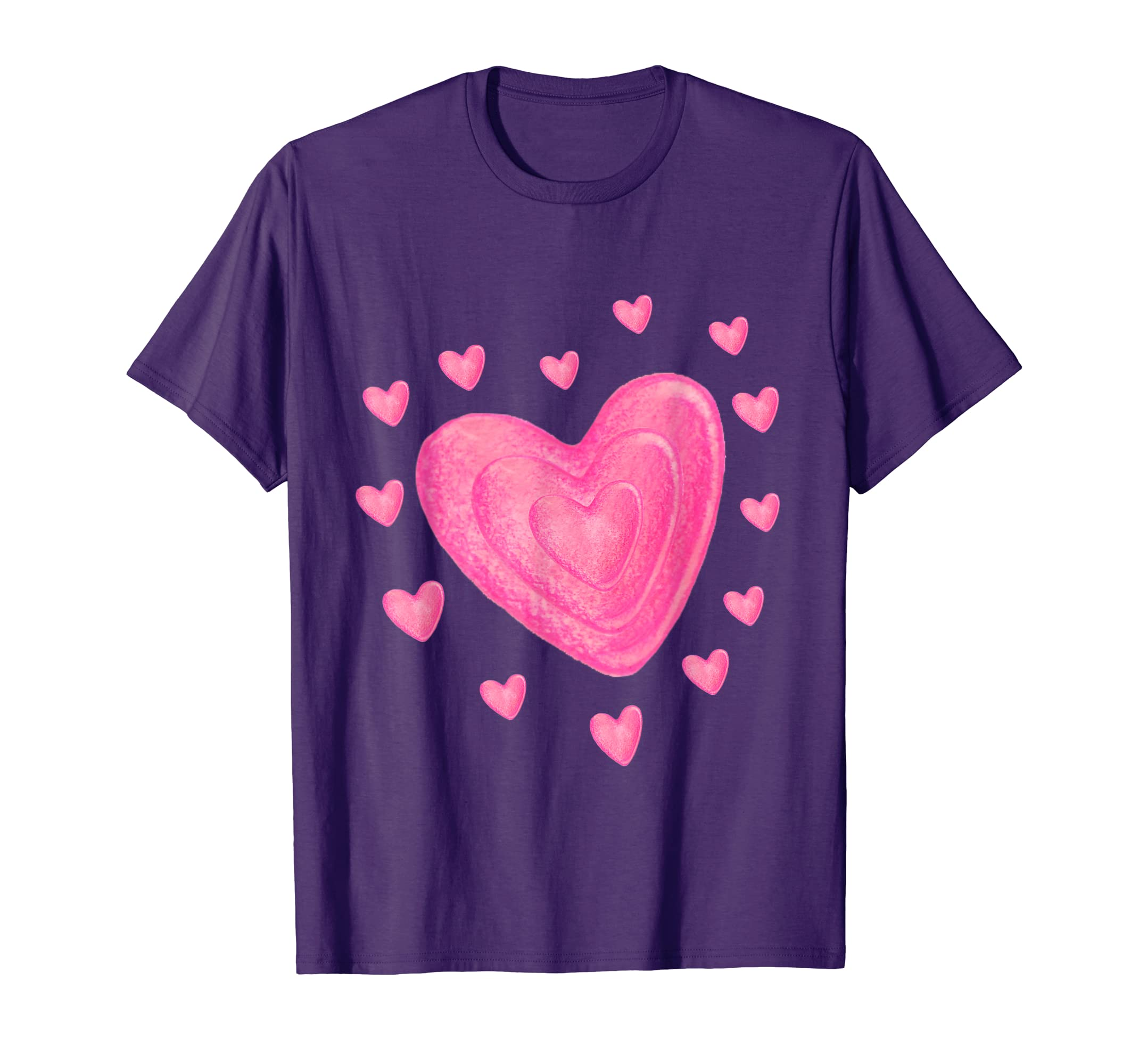 1c0eab81 Happy Valentines Day Hearts T Shirt for Boys Girls Kids