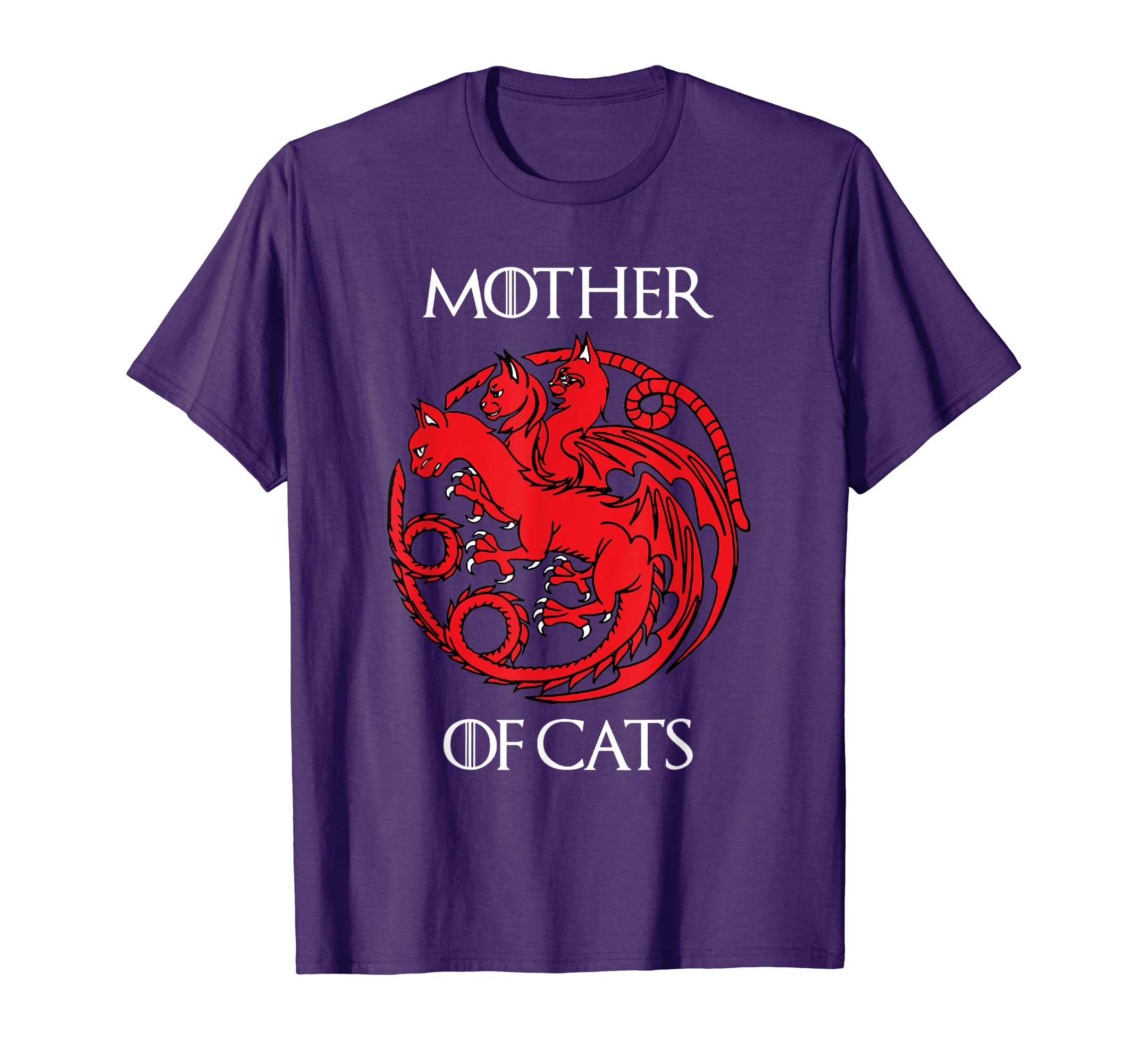 62a478f5 Amazon.com: Cat Lovers Shirt - Mother of Cats Hot 2019 T-Shirt: Clothing