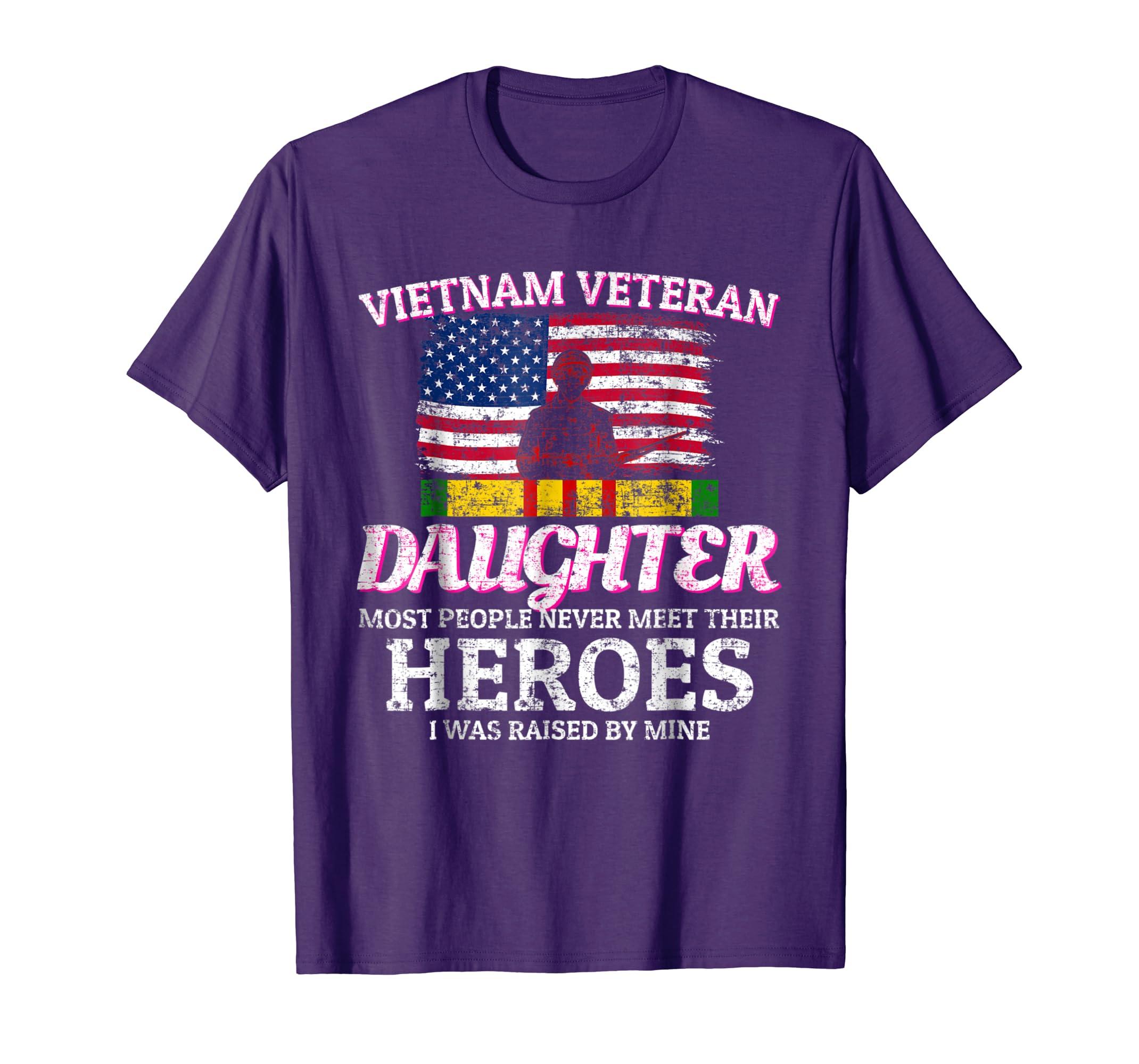 Daughter Of A Vietnam Veteran T Shirt Proud Apparel