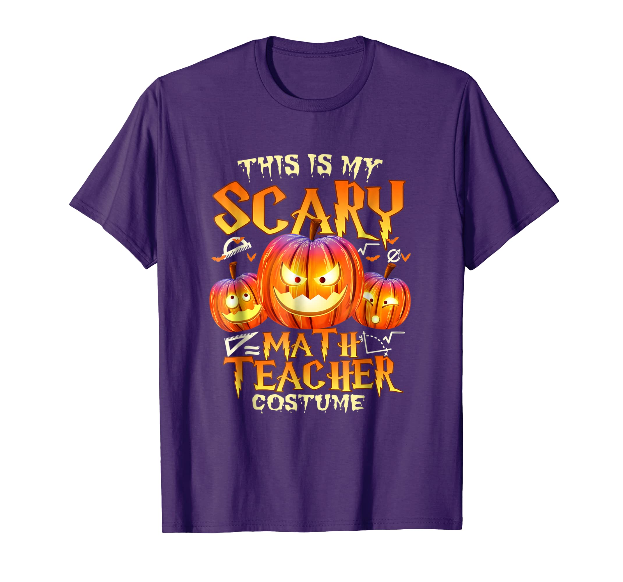 This Is My Scary Math Teacher Costume Halloween T Shirt-Teechatpro