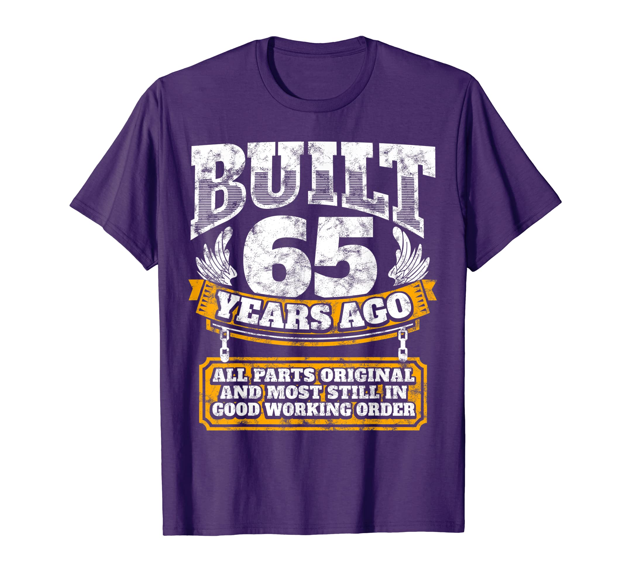 Amazon Funny 65th Birthday Shirt B Day Gift Saying Age 65 Year Joke Clothing