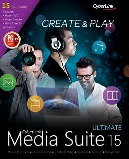cyberlink media suite 15 ultimate