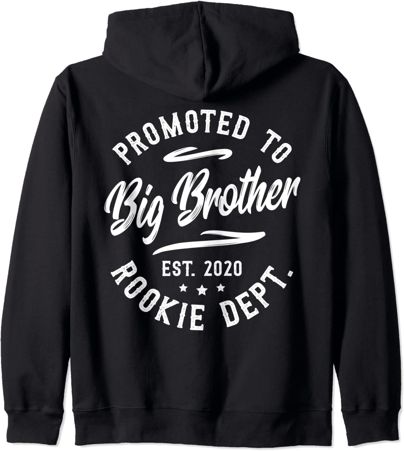 Cheap Promoted To Big Brother Est. 2020 Gift Zip Dept. Rookie Siblings Special Campaign