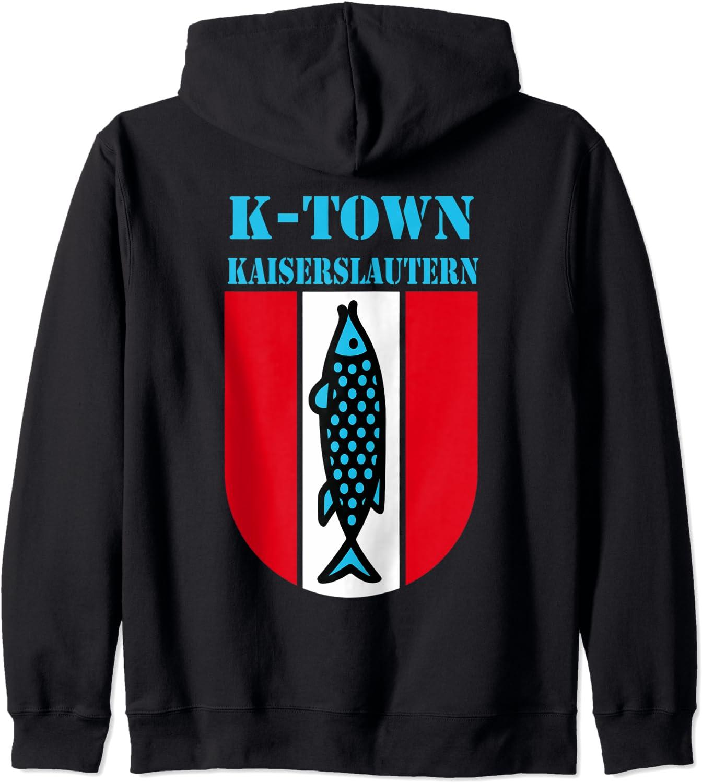K-Town Popular products Kaiserslautern Germany Fish Hoodie Vintage Zip Emblem Seasonal Wrap Introduction