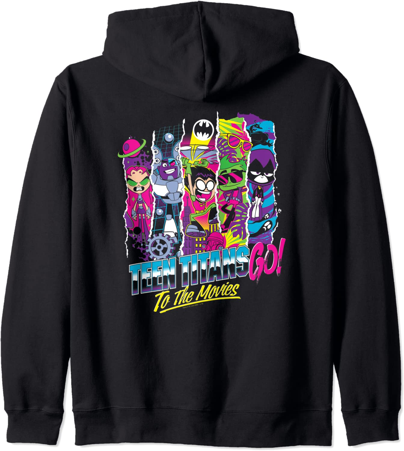 Teen Titans Go To The Zip Panels Movies Very popular! Columbus Mall Hoodie Group