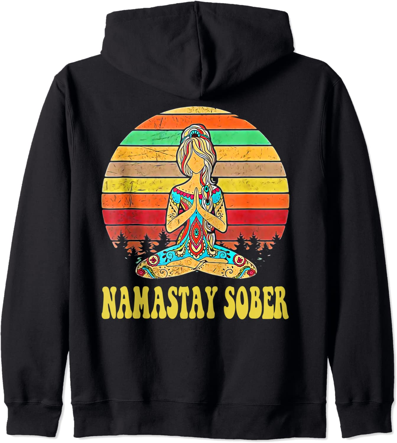 Namastay Sober NA AA 12 Step Recovery Anonymous Ho Zip Narcotics Max 72% San Diego Mall OFF