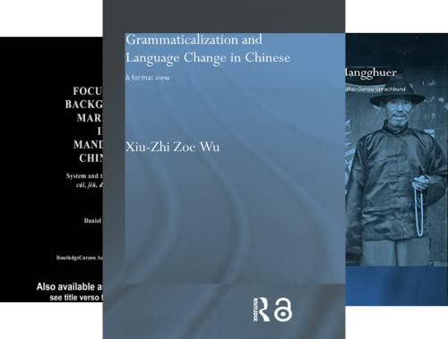 Routledge Studies in Asian Linguistics (8 Book Series)