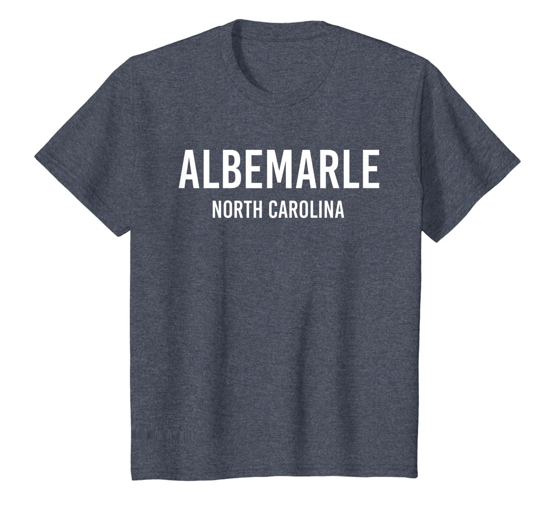 ALBEMARLE NORTH CAROLINA NC USA Patriotic Vintage Sports T-Shirt