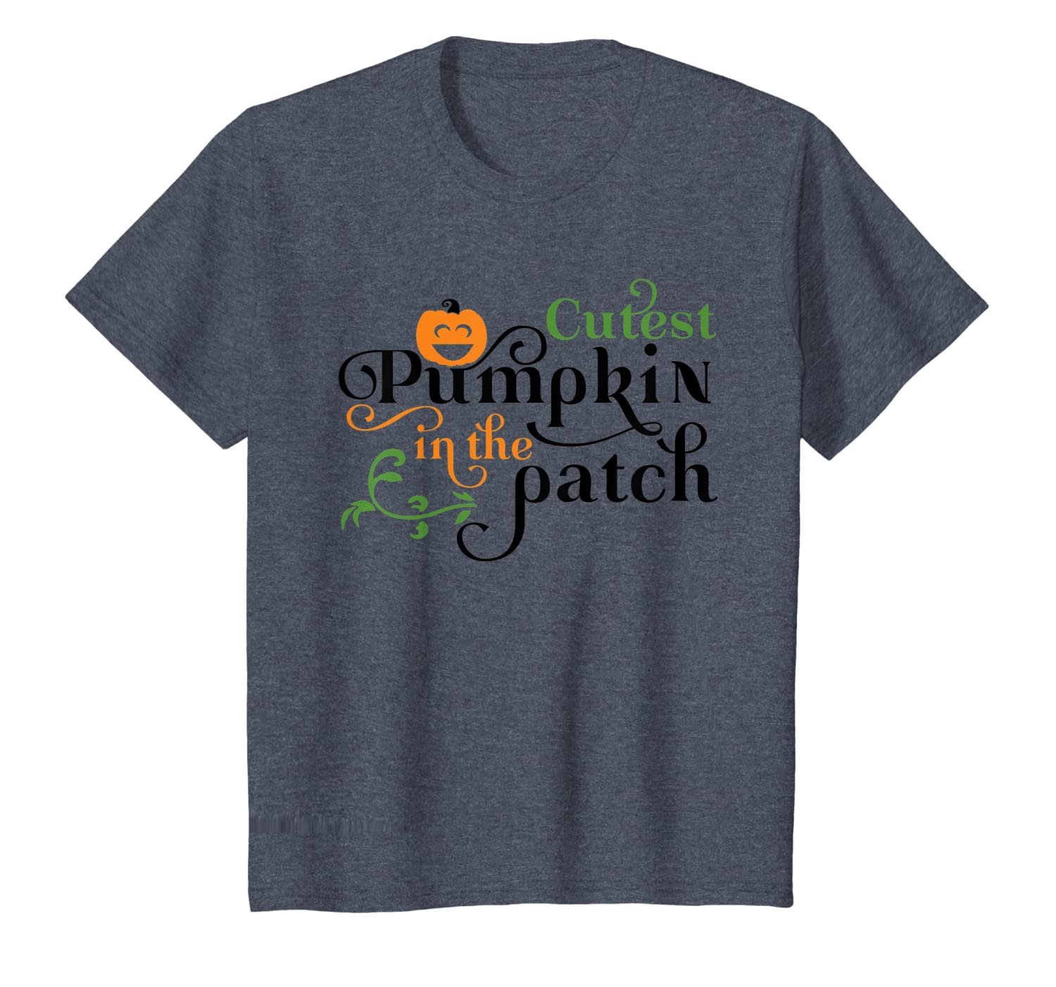 Cutest pumpkin in the patch t-shirt Fall shirt Halloween