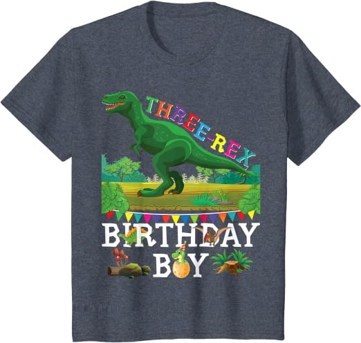T Rex 3D disastrous kid t-shirt feel look real toddler youth school shirt boy birthday Christmas top US size free shipping