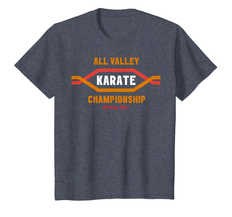 4fe682bafc15 Amazon.com: Cobra Kai All Valley Karate Championship Graphic T-Shirt:  Clothing