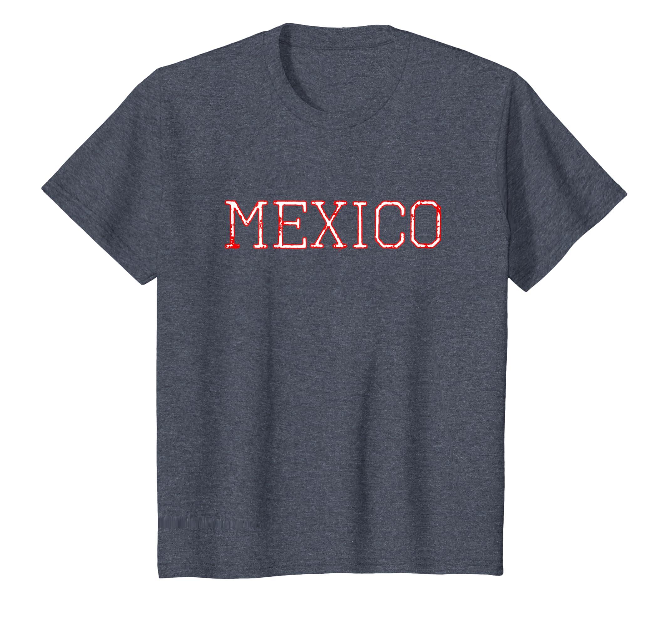 Amazon.com  Vintage Retro Mexican Football Jersey for Tri Fans  Clothing 225a1abb8e299