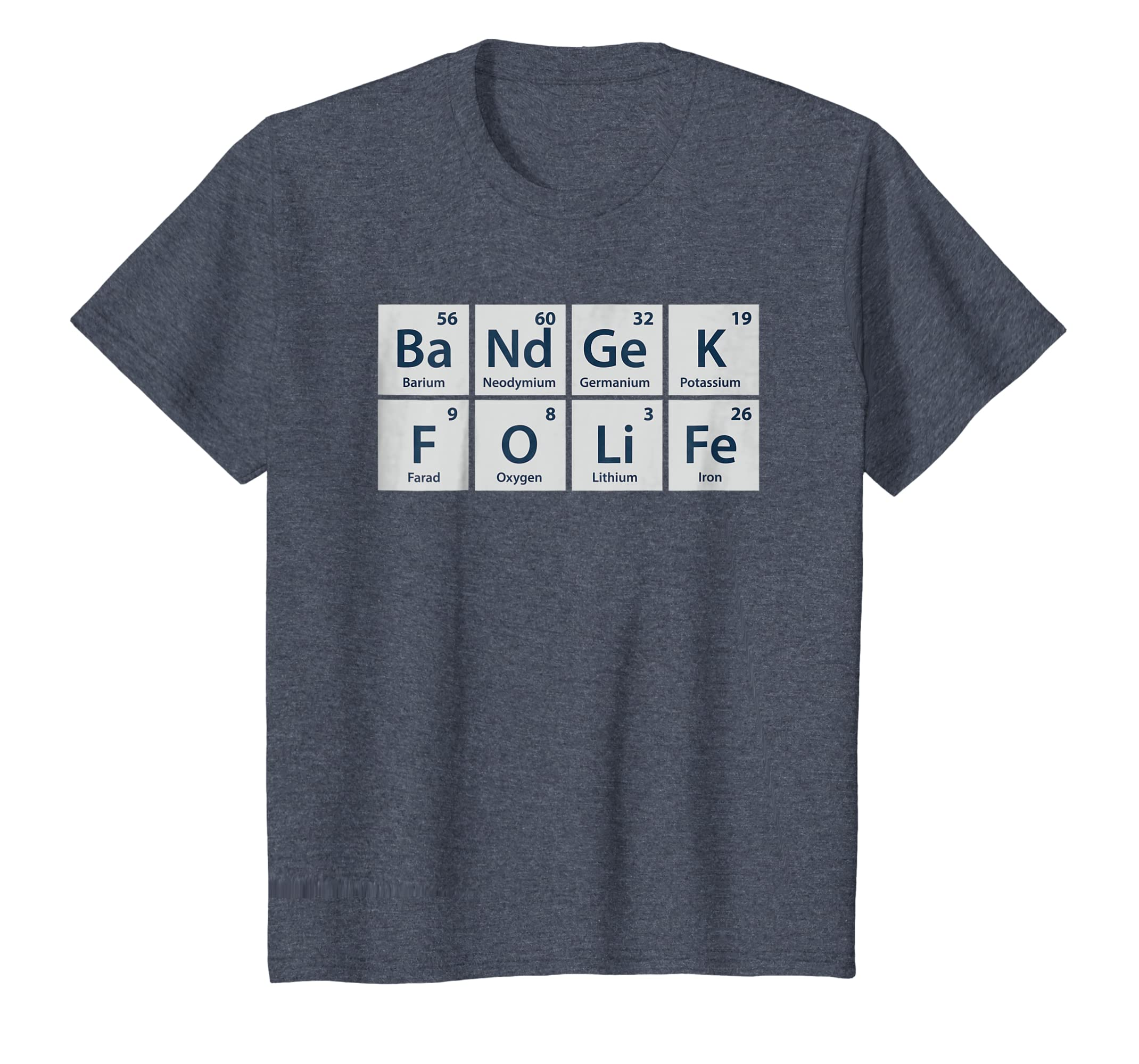 976b6acb Amazon.com: Band Geek For Life Funny Chemistry TShirt For Marching Band:  Clothing