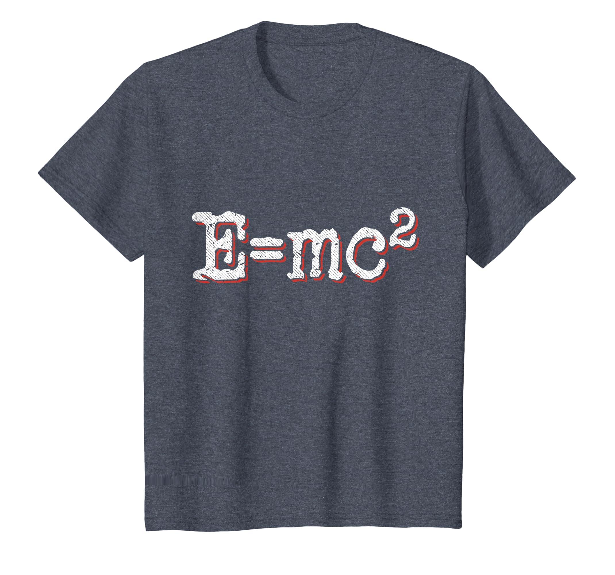 e175d5b7 Amazon.com: E=MC2 T-shirt: Clothing