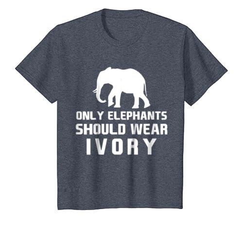 f0390700f Amazon.com  Only Elephants Should Wear Ivory T-Shirt  Clothing