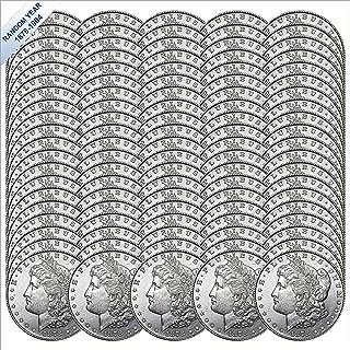 (1878-1904) Morgan Silver Dollar (BU) One-Hundred Coins Brilliant Uncirculated