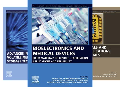 Woodhead Publishing Series in Electronic and Optical Materials (51-84) (34 Book Series)
