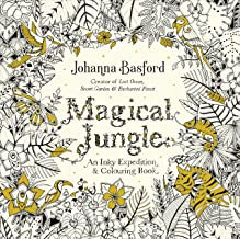 Livres Magical Jungle: An Inky Expedition & Colouring Book PDF