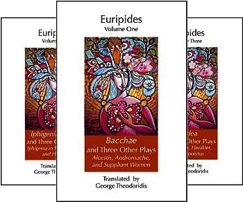 Euripides  5 Book Series
