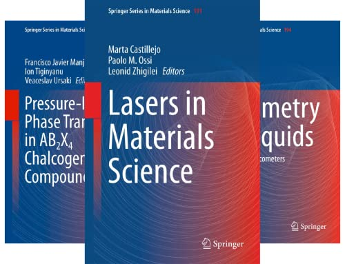 Springer Series in Materials Science (101-150) (50 Book Series)