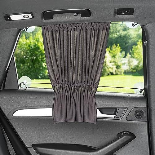 Laloona Protector solar para el coche / Cortina con protección UV, opaca, Tamaño XXL