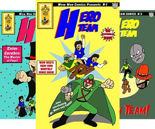 Wow Wee Comics Presents (3 Book Series)