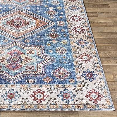 "Artistic Weavers Kata Area Rug, 2'6"" x 7'6"", Blue"