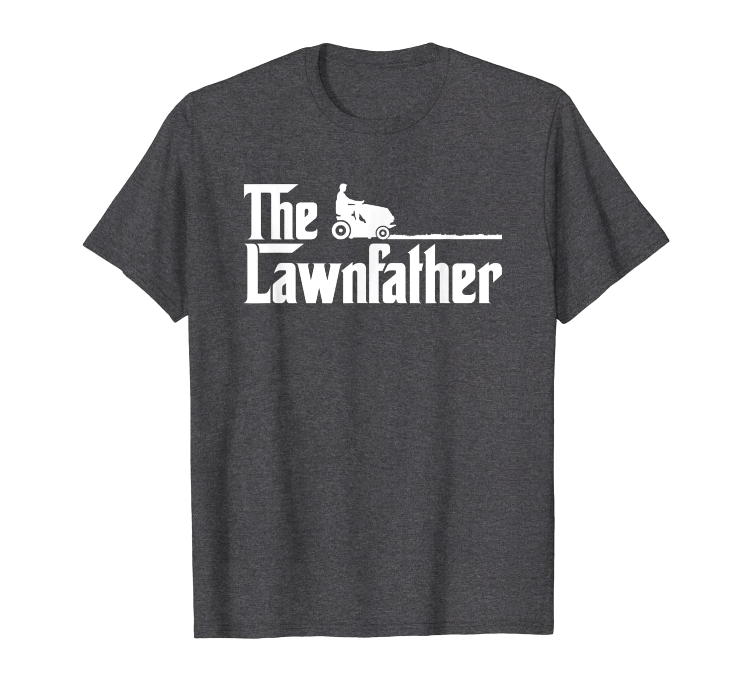 Mens The Lawnfather funny lawn mowing t-shirt-TH